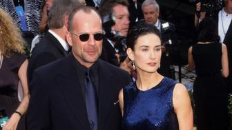Bruce Willis and Demi Moore (Photo by Ke.Mazur/WireImage)
