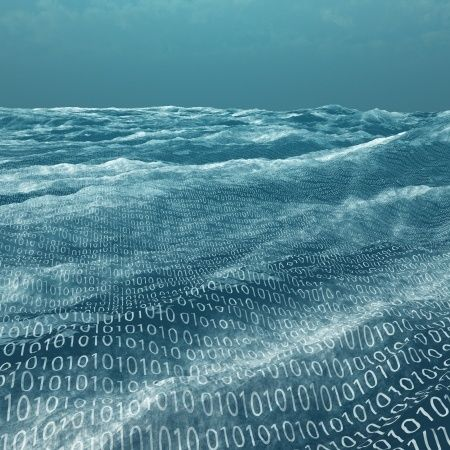 """Saying """"oceans of data"""" really is the best way to describe Big Data. A huge amount of data is currently unexplored and underu"""