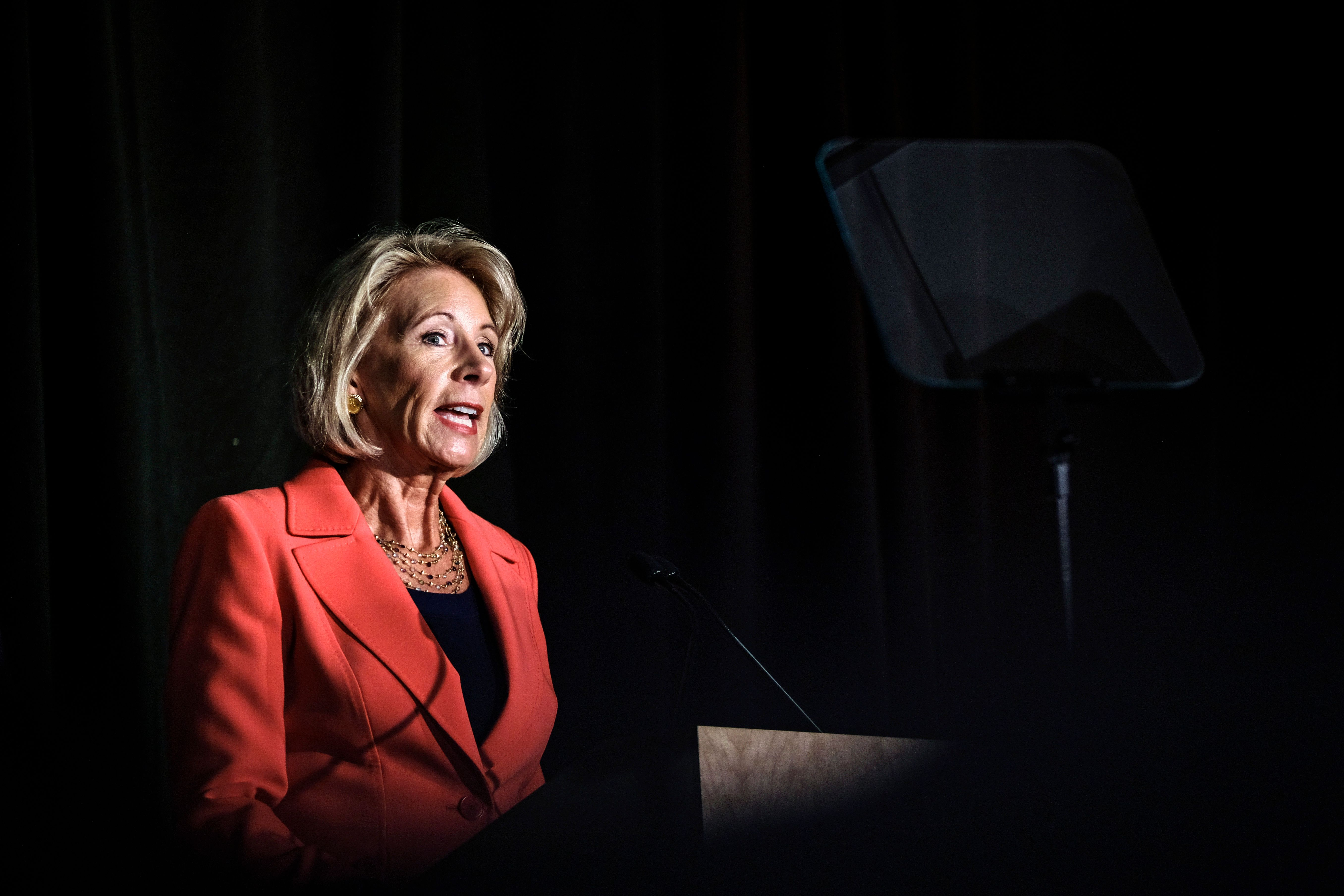 Secretary of Education Betsy DeVos has targeted measures meant to protect against sex discrimination in federally funded educ