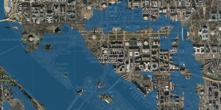 <p><em>The National Mall is at risk of extreme flooding by the end of the century. </em></p>