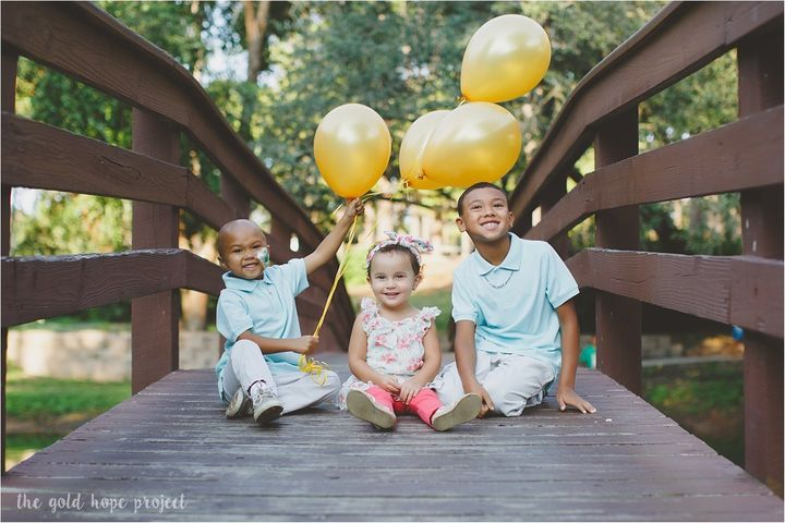 """""""It is our hope that the families we photograph have moments of joy and happiness during their photo session,"""" Dawson&n"""