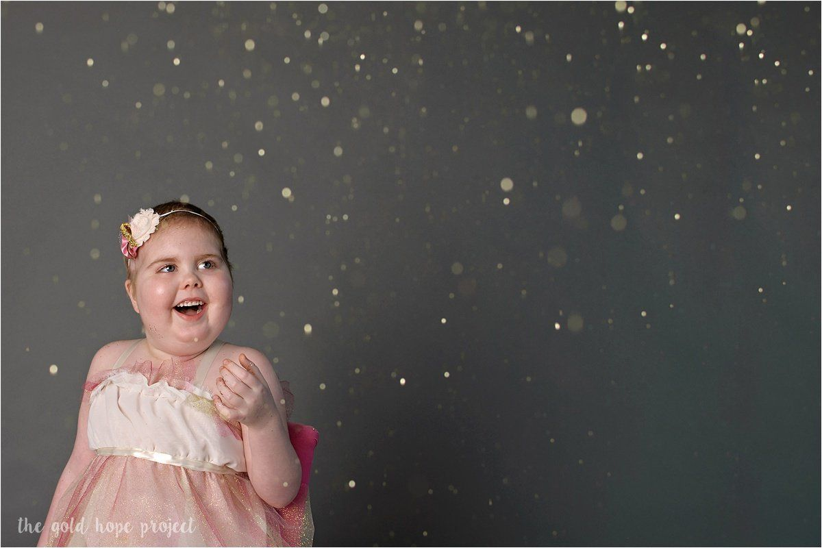 Dawson was inspired to create the Gold Hope Project after her daughter Ava's 11-month fight against a terminal brain tu