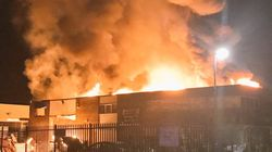 Factory Blaze Causes Huge Train Disruption In London Morning Rush
