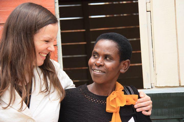 Rebecca Tryisingizi, 41, a graduate from the Women for Women programme in Rwanda.