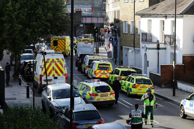 Emergency services near the south-west London stations