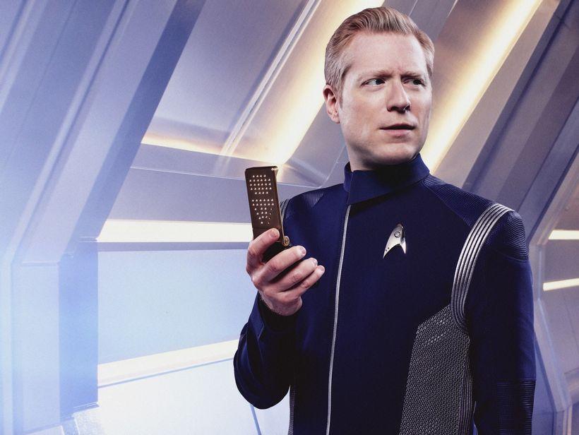 Anthony Rapp as Lt. Paul Stamets, a Starfleet officer in Star Trek: Discovery.