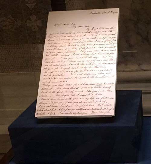 <em>Frederick Douglass' letter to his former master (Abu-Fadil)</em>