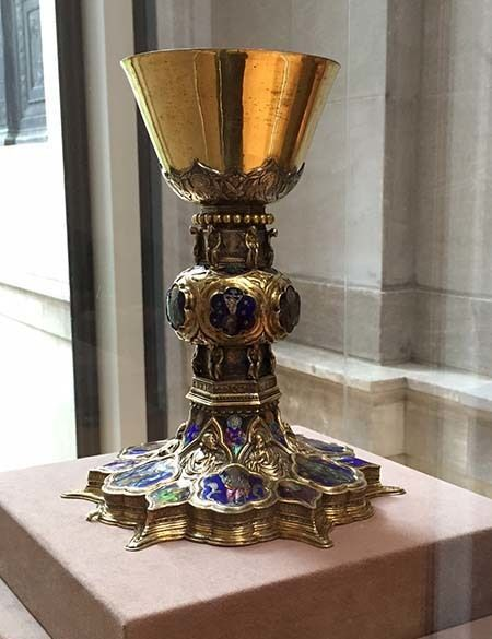 <em>Chalice from Morgan's Medieval treasury (Abu-Fadil)</em>