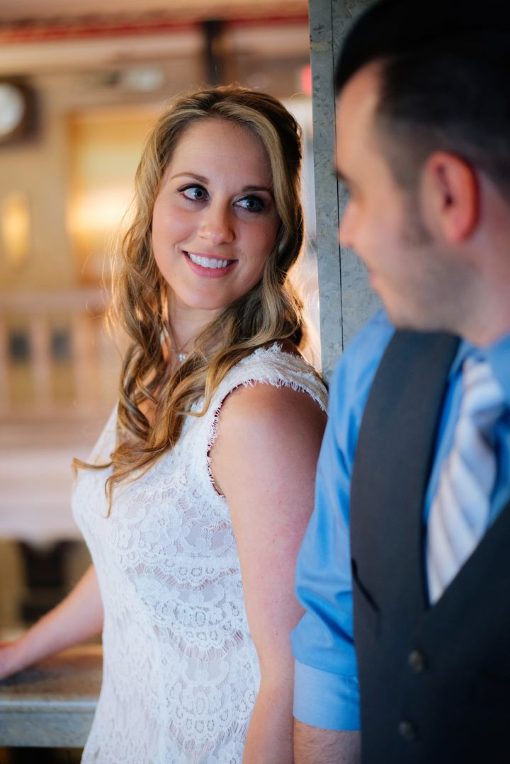 Having an intimate elopement allowed the couple to really savor the moment.