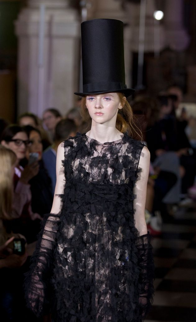 London Fashion Week: Ryan Lo's SS18 Collection Is The Ethereal Gothic Bridalwear Of Your Romantic