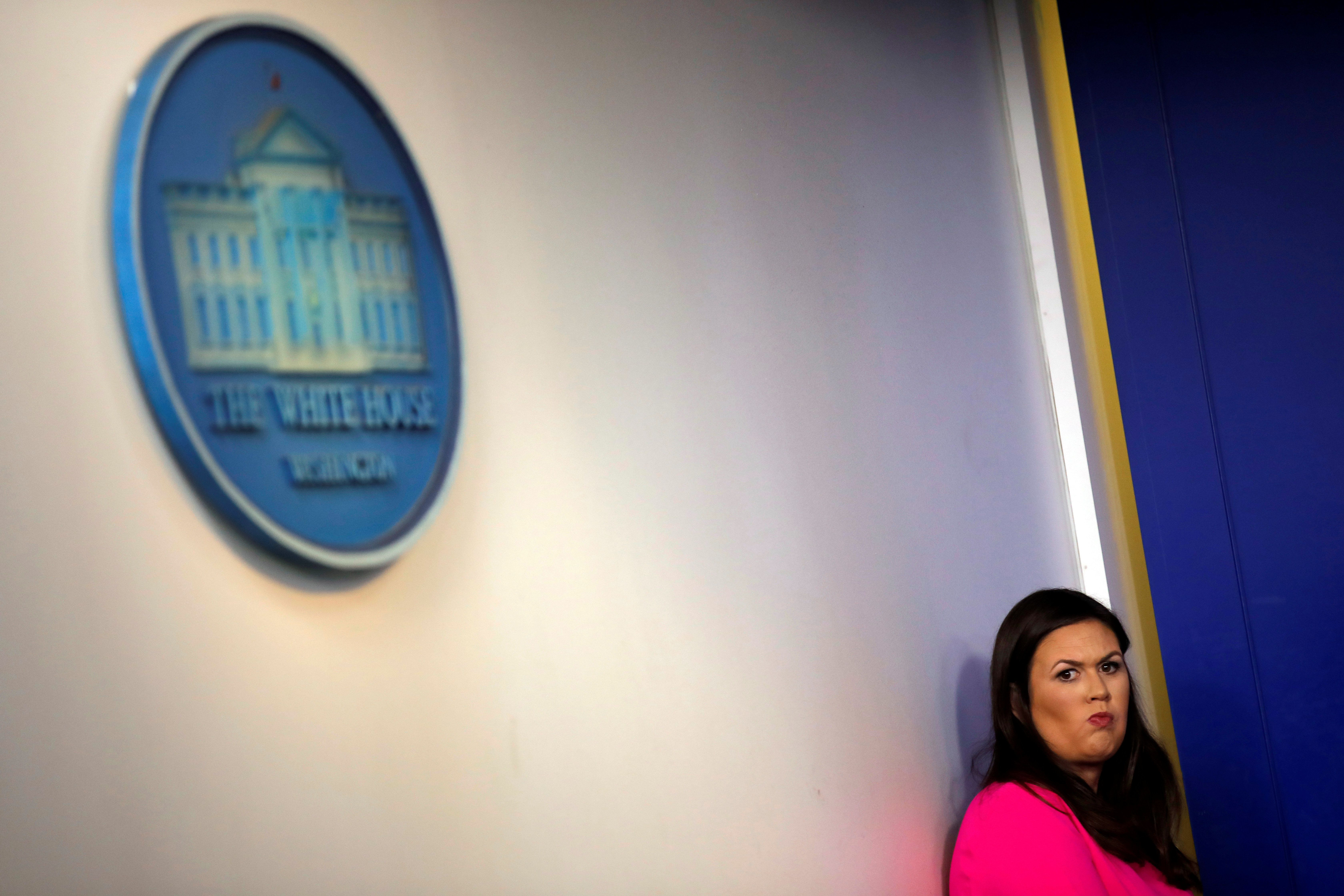 Trump's Press Secretary Squirms As Reporter Highlights President's Hypocrisy Over 'Untruths'