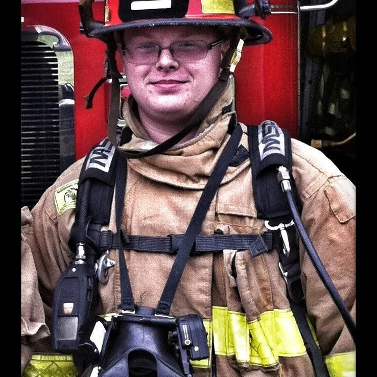 A fire department in Franklin Township, Ohio, has suspended Tyler Roysdon for his racist Facebook