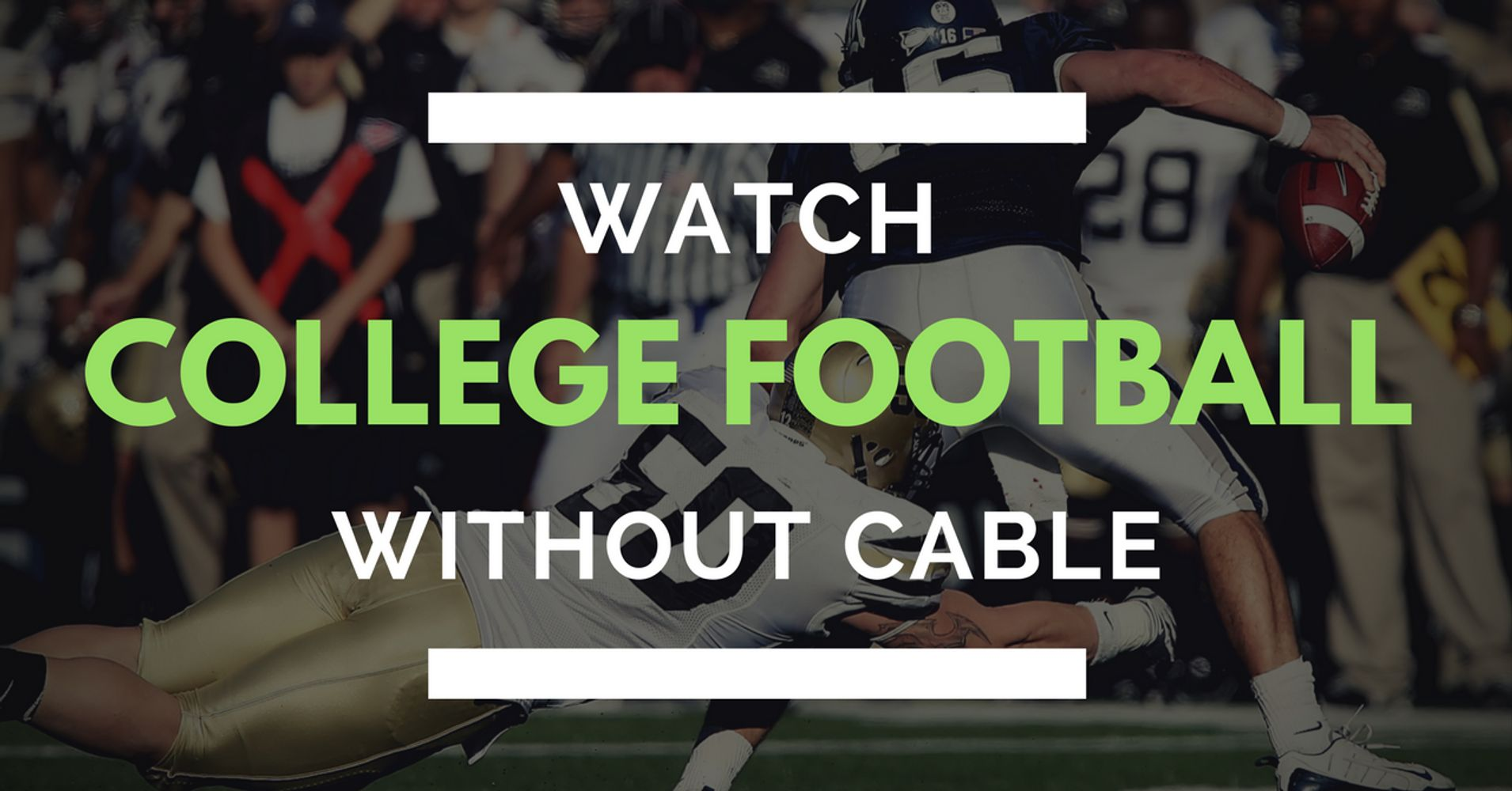 How To Watch Byu Cougars Football Without Cable Huffpost