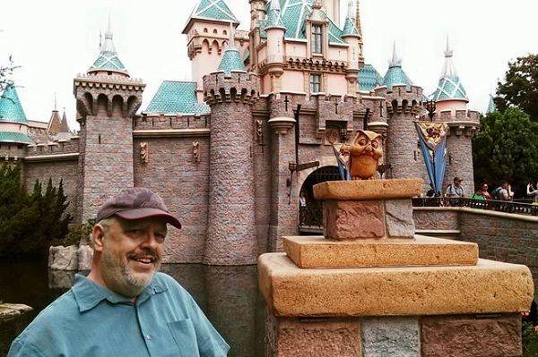 """Walt's Disneyland"" author, Jim Denney"