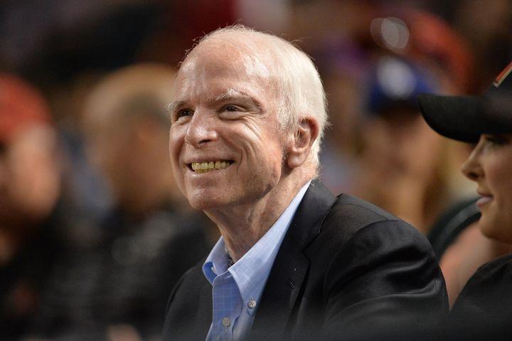 Sen. John McCainis pushing back again on President Donald Trump's plans.
