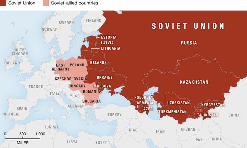 Union of Soviet Socialist Republics, 1922–1991