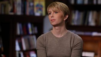 ABC NEWS - ABC News' 'Nightline' co-anchor Juju Chang sits down with Chelsea Manning for the first exclusive television interview since Manning's prison release. The interview will air on an upcoming special edition of Nightline, 'Declassified: The Chelsea Manning Story.'  (Photo by Heidi Gutman/ABC via Getty Images)  CHELSEA MANNING
