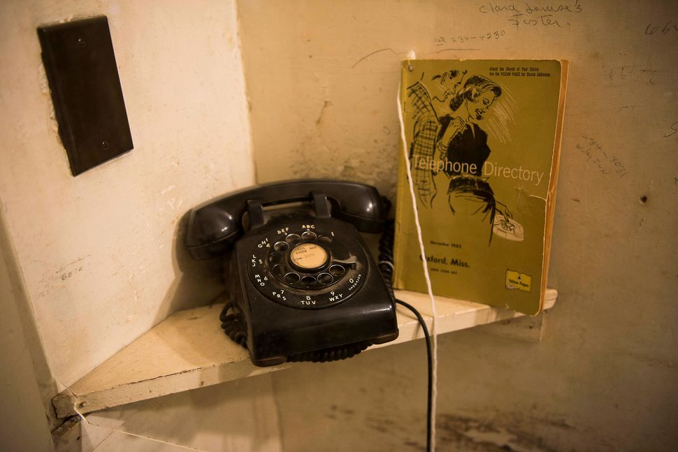 The phone William Faulkner received word on that he had won the Nobel Prize.