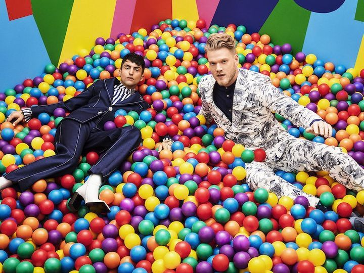 Superfruit — consisting of Pentatonix members Mitch Grassi and Scott Hoying — released full-length album <em>Future Friends <