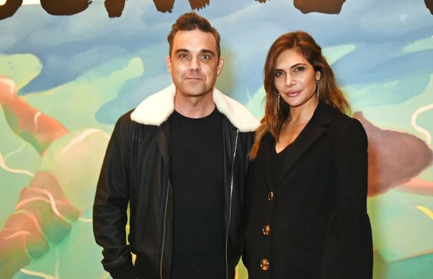 Robbie and Ayda in