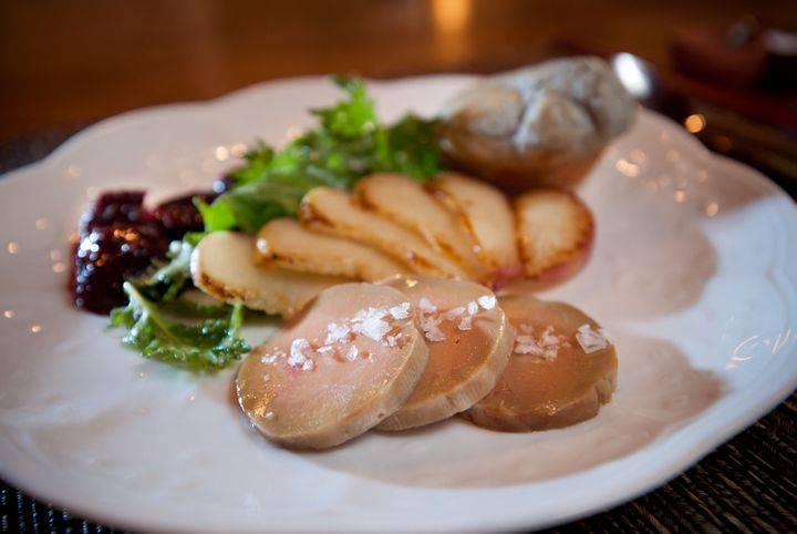 Foie gras at a restaurant in Sacramento, California, in 2012.