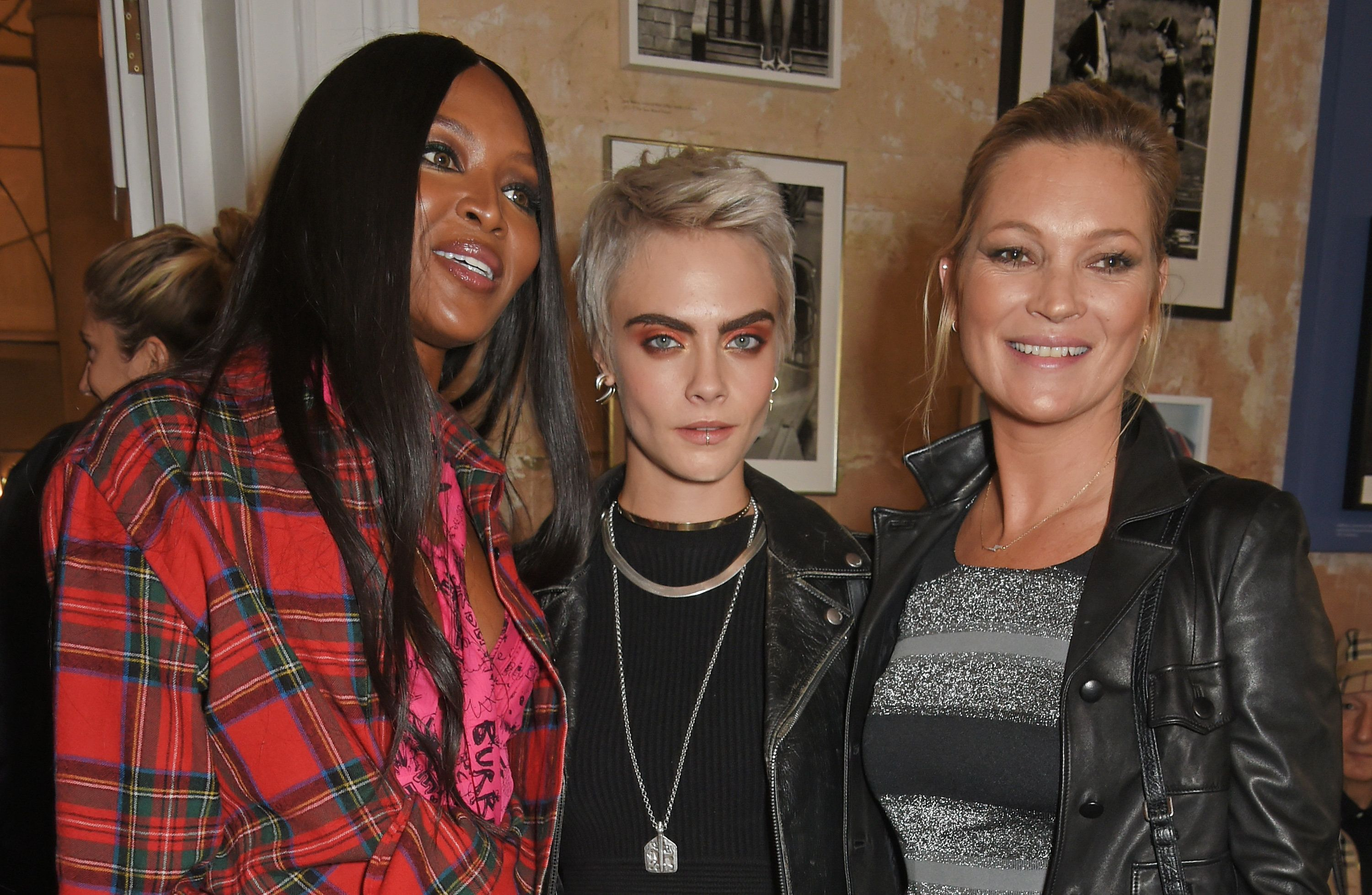 Burberry's London Fashion Week FROW Had More Supermodels Than The