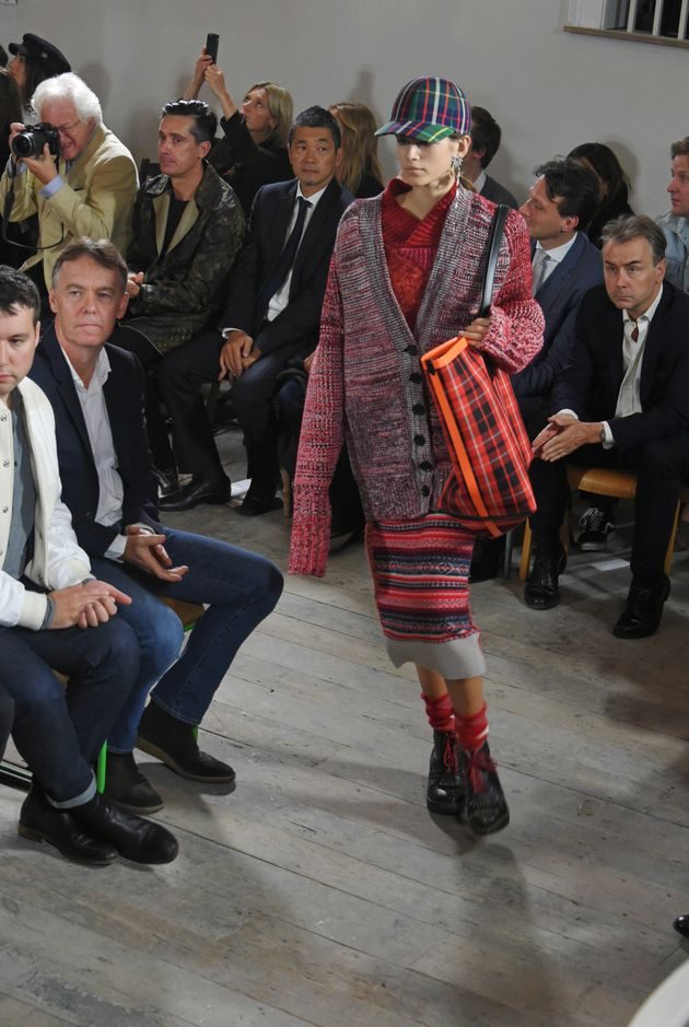 Cindy Crawford's Kids Kaia Gerber And Presley Gerber Make Their London Fashion Week Debut At