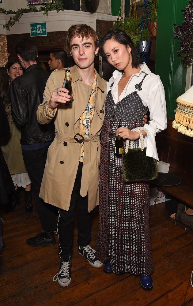 Lennon Gallagher and model Betty