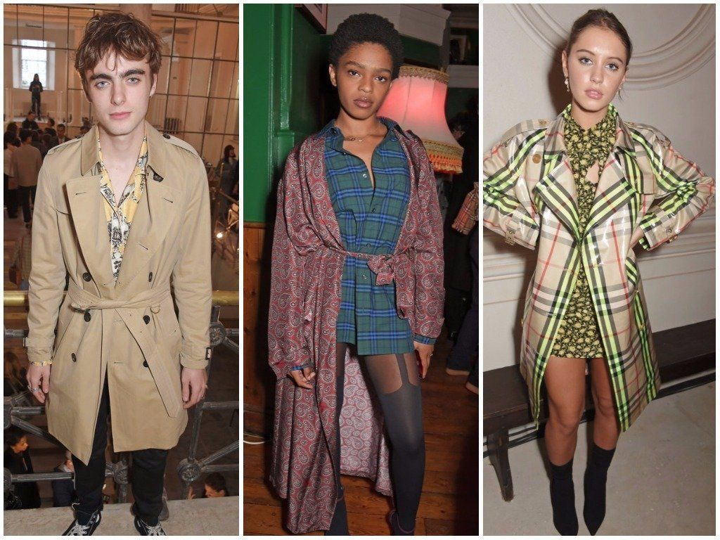 Liam Gallagher's Son Joins Jude Law's Daughter And Bob Marley's Granddaughter At LFW