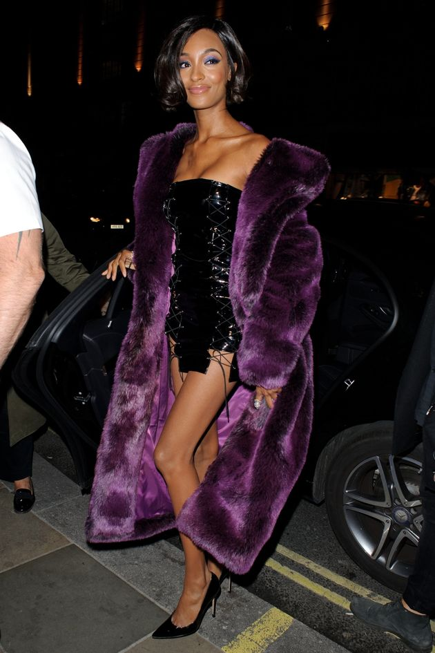 Jourdan Dunn at Misguided Party during London Fashion on 16 September