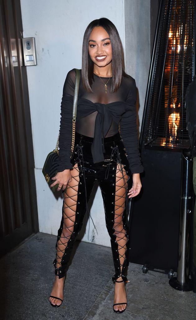 Little Mix star Leigh-Anne