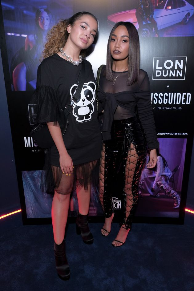 Singers Ella Eyre and Leigh-Anne