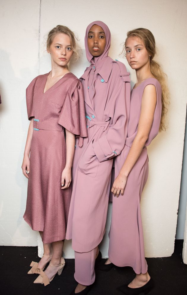The Hijab At London Fashion Week Edeline Lee Shows How