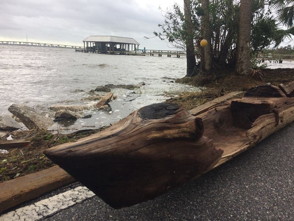 A canoe that a Florida man said he found washed ashore after Hurricane Irmas landfall last week is being carbon dated by archeologists