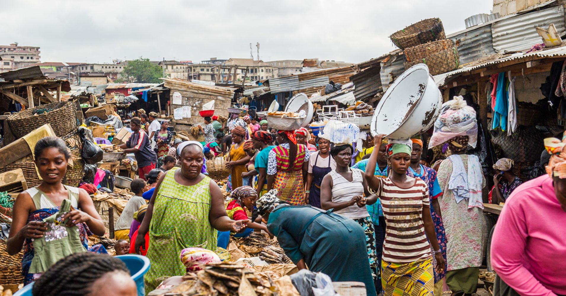 the daily struggles with hunger and poverty in ghana africa