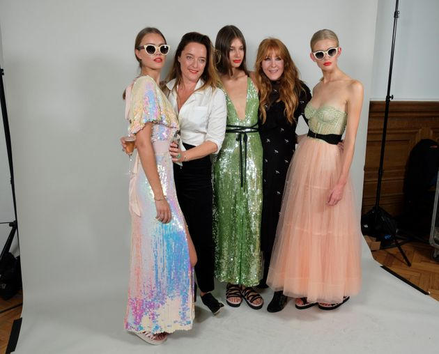 Alice Temperley with Charlotte