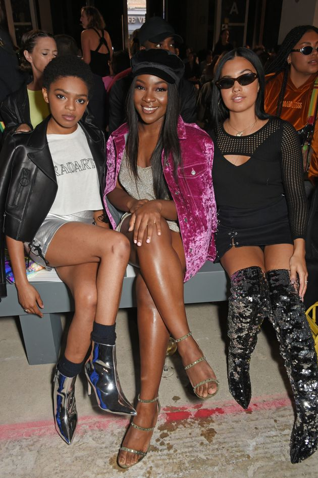 Model Selah Marley, and singers Ray BLK and Mabel