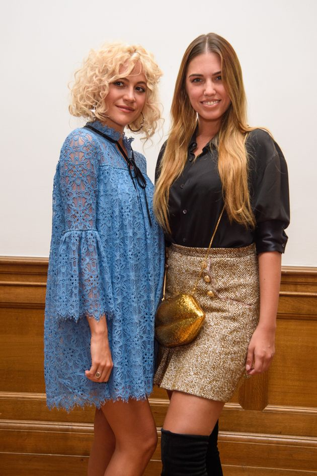 Pixie Lott and Amber Le