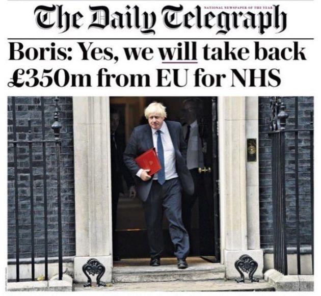 Boris Johnson Accuses UK Statistics Authority Of 'Misrepresentation' In Row Over £350m