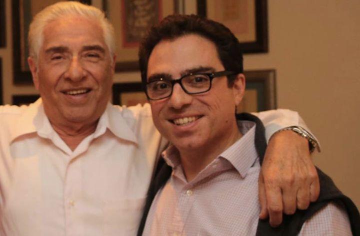 Baquer and Siamak Namazi (right).