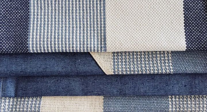 """<p>Textiles made from upcycled denim. <a href=""""https://www.thenewdenimproject.com/yarn-fabrics"""" target=""""_blank"""" role=""""link"""" rel=""""nofollow"""" data-ylk=""""subsec:paragraph;itc:0;cpos:__RAPID_INDEX__;pos:__RAPID_SUBINDEX__;elm:context_link"""">The New Denim Project</a></p>"""