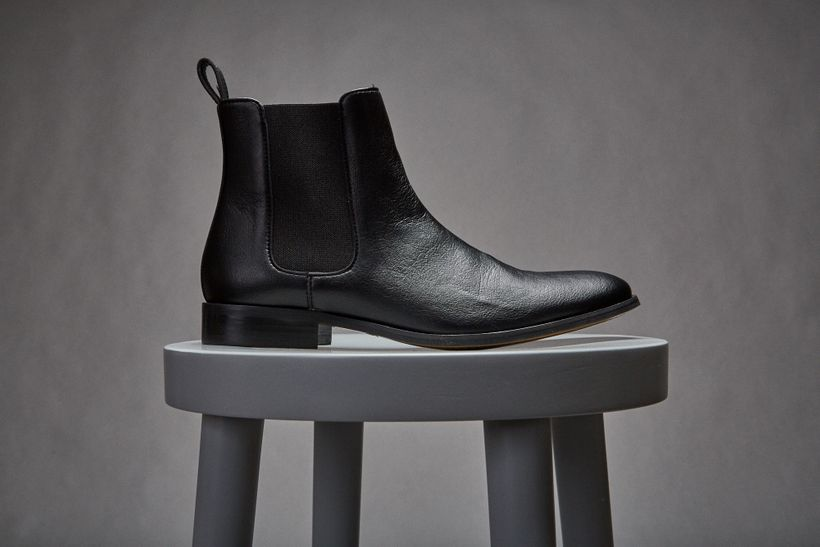 "Brave GentleMan's ""Lover"" Chelsea Boot made with European Union Ecolabel-certified PU microfiber. <a rel=""nofollow"" href=""htt"