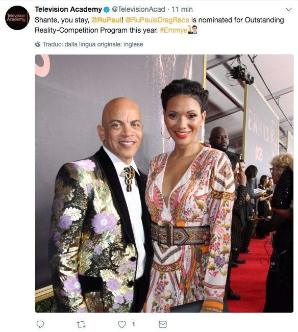 Television Academy Mixes Up RuPaul With Rickey Minor in Tweet