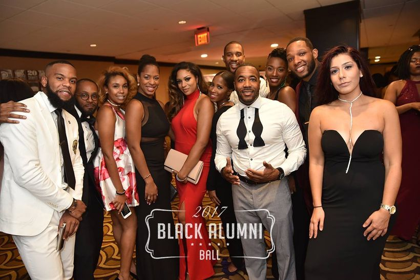 Members of District Running Collective & #GOODWRK were in attendance at this year's Black Alumni Ball