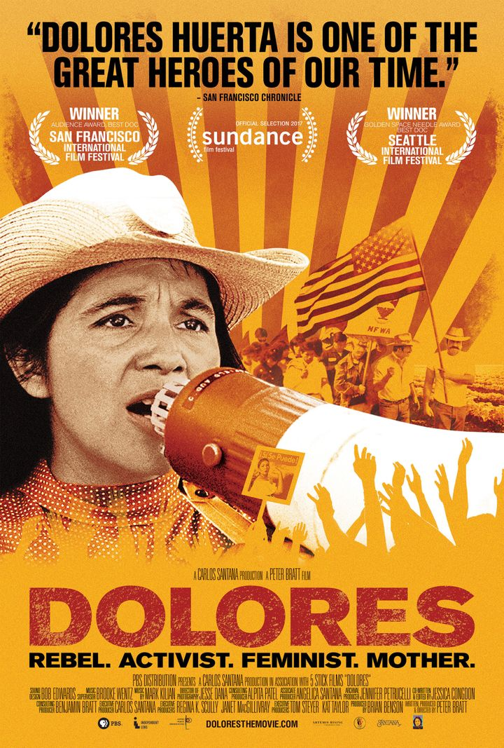 "The ""Dolores"" film poster."
