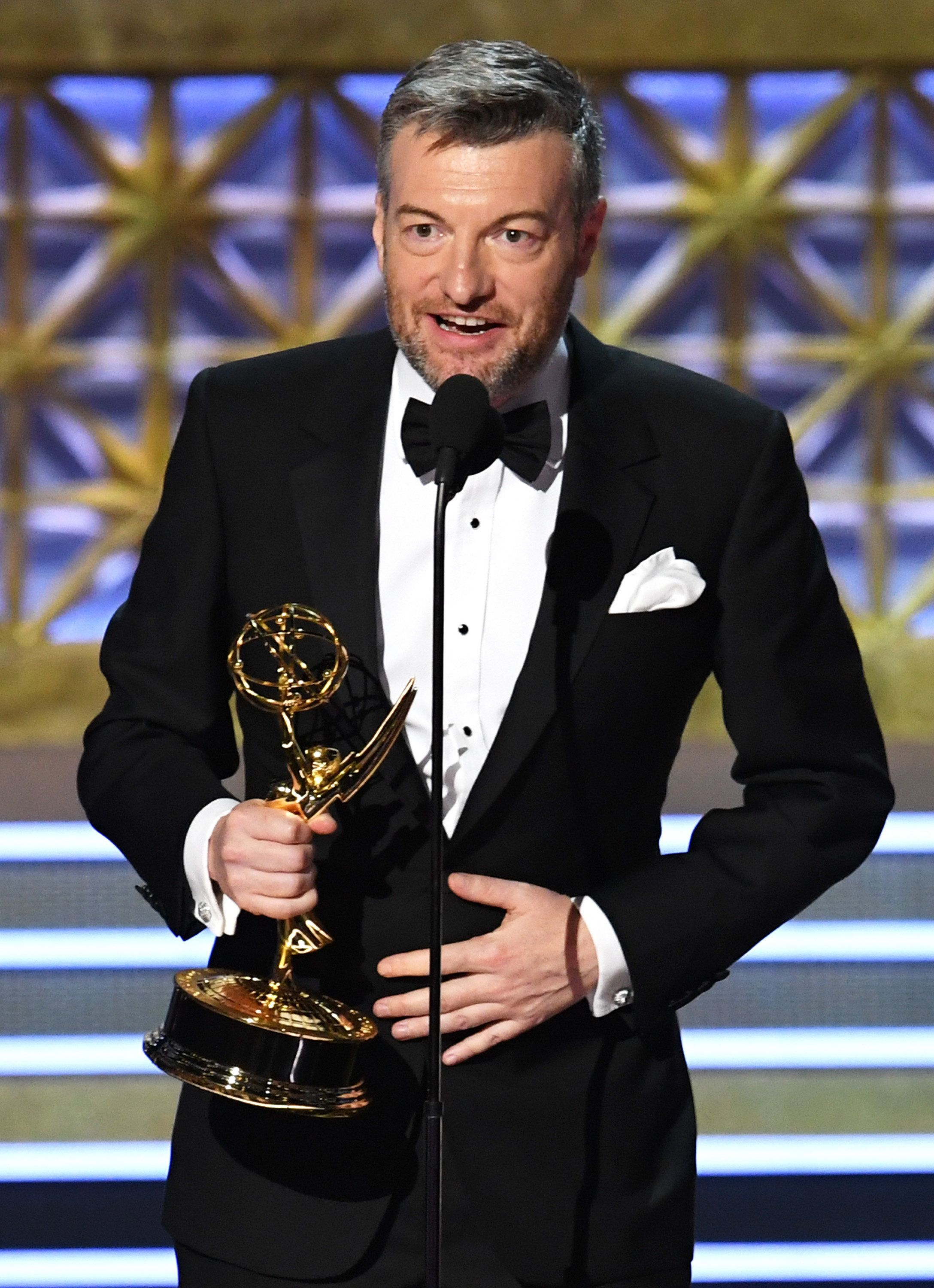 Charlie Brooker Leads British Winners At The Emmys With 'Black Mirror'
