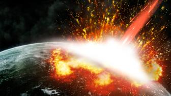 Global accident - collision of an asteroid with the Earth.