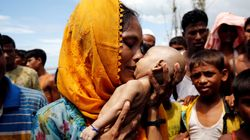 Photo Of Rohingya Woman Mourning Her Dead Infant Underscores Worsening