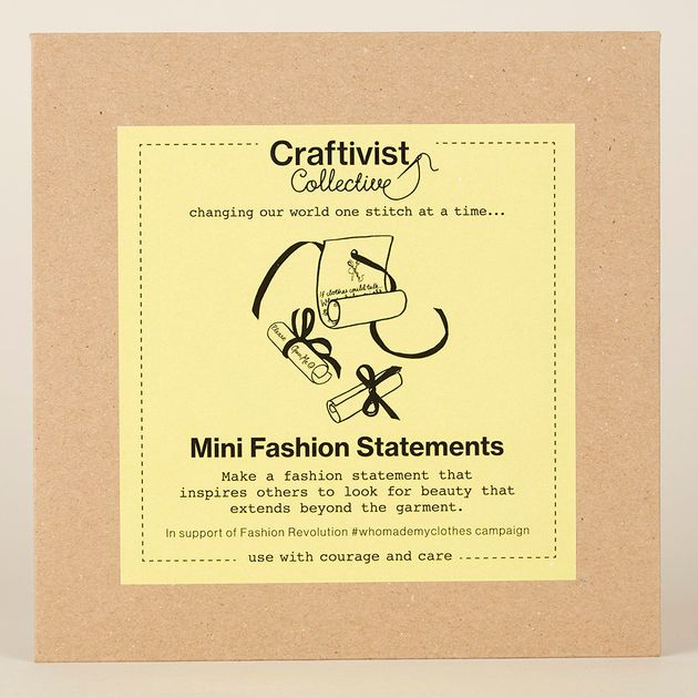 London Fashion Week: Craftivists Are The Peaceful Sustainability Activists The World Needs To Know