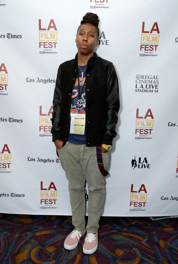 """At the premiere of """"Dreams Are Colder Than Death"""" in Los Angeles."""